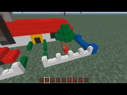 LEGO en Minecraft - Billund Tutorial Review   Mod Spotlight Minecraft 1.6.2   Español