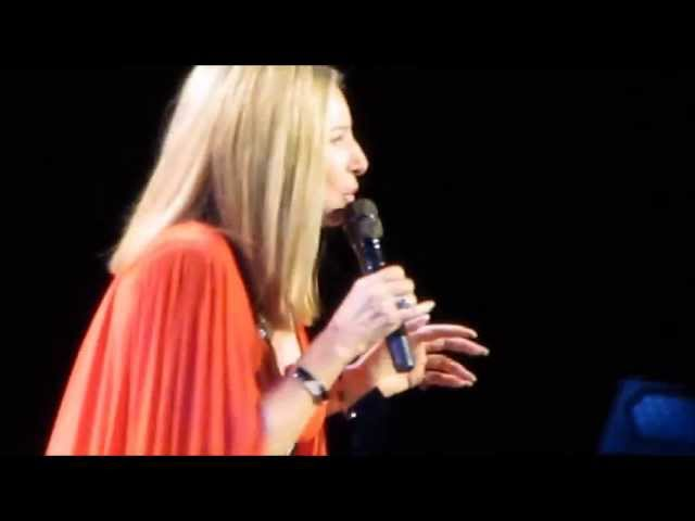 Barbra Streisand Woman in Love live in Amsterdam 2013 best quality