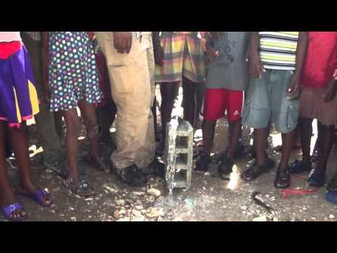 Water... Haiti!