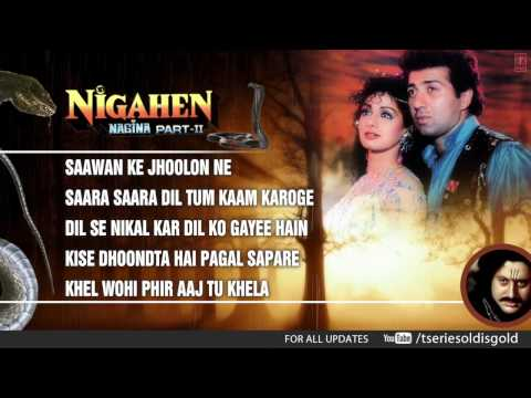 Nigahen Movie Full Songs | Sunny Deol Sridevi | Jukebox