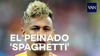 El peinado 'spaghetti' de Neymar Jr en el Mundial de Rusia 2018