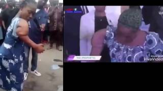 Two Nigerian pastors use same woman for same miracle -  Busted!