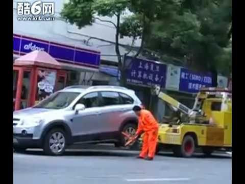 Chinese Tow truck get Towed  Very Hilarious