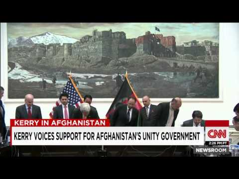 Four Explosions In Kabul After John Kerry's Departure
