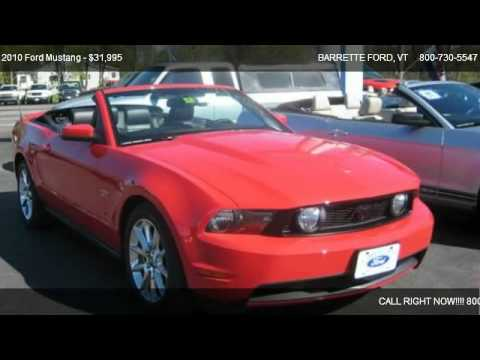 2010 Ford Mustang GT - for sale in SWANTON, VT 05488