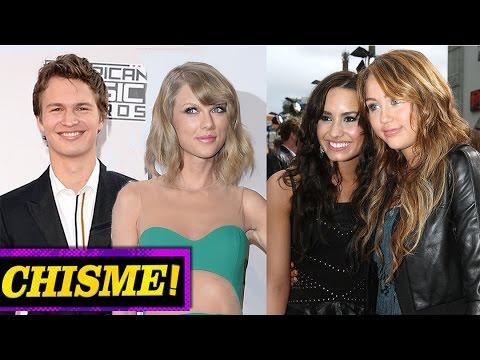 ¿Demi Lovato y Miley Cyrus PELEA, Taylor Swift y Ansel Elgort Novios? - CHISMELICIOSO!