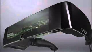 EPSON MOVERIO BT-100 hmd visore 3d con 2 lcd trasparenti