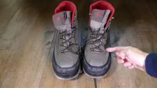 Primeras impresiones zapatos de vadeo Redington Skagit River