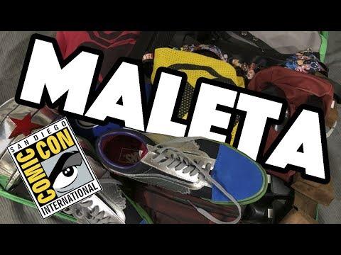 Mi MALETA para COMIC-CON SAN DIEGO 2018 / NAVY