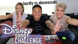 Download Lagu Disney Song Challenge - LaurDIY vs Alex Wassabi | AJ Rafael Gratis STAFABAND