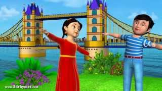 London bridge is falling down - 3D Animation English Nursery rhyme for children