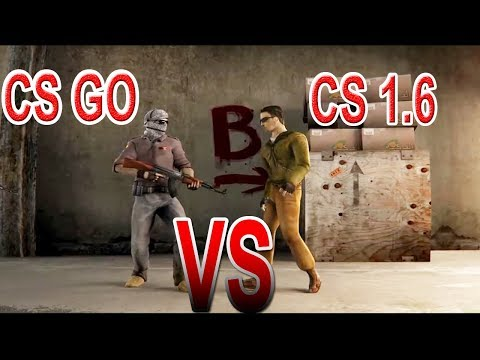CS GO vs CS 1.6 - s1LLa FRAGS
