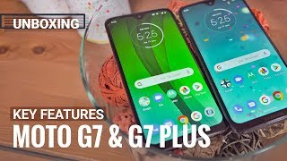 Moto G7 and G7 Plus key features