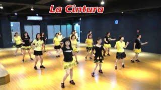 La Cintura (by Ann-Kristin Sandberg) - Line Dance (Demo & Walkthru) (4K)