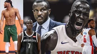 Detroit Pistons Bruce Brown joins the thon maker workout mentality