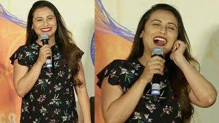 Rani Mukherjee's FUNNY Moments Trolling Media At Hichki Movie Trailer Launch