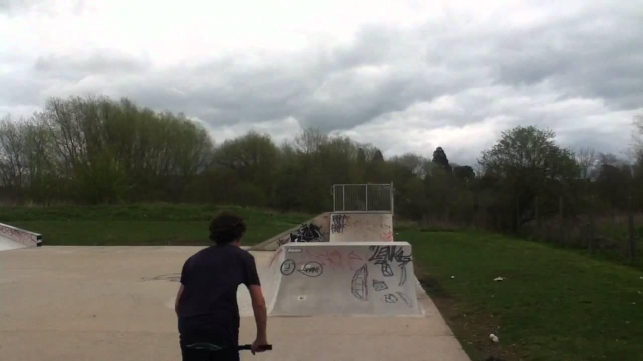 Stratford Ontario Skatepark at Stratford Skatepark