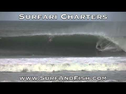 surfing, fishing, surfari charters, tube, barrel, san juan del sur, iguana, rancho santana, puerto sandino, gran pacifica
