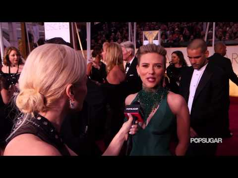 Scarlett Johansson Interview on the Oscars 2015 Red Carpet