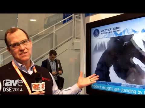 DSE 2014: Keystone Exhibits Its Touchpad with Intel RCM and Live Video Interactive Application