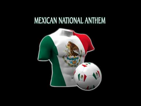 Mexican National Anthem Mexico World Cup 2010 South Africa Soccer Football