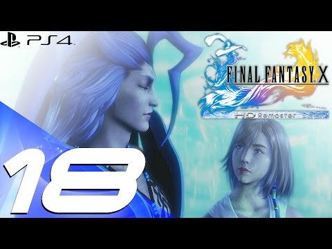Final Fantasy X HD Remaster PS4 - Walkthrough Part 18 - Thunder Plains