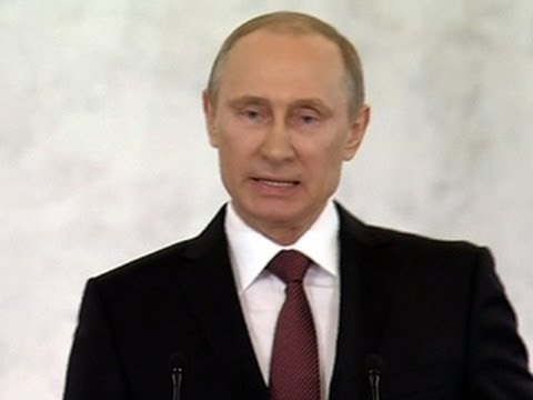 Putin moves forward to formalize Crimea annexation as U.S. imposes sanctions