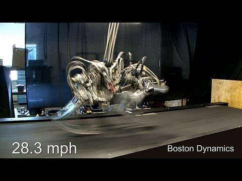 Cheetah Robot runs 28.3 mph; a bit faster than Usain Bolt