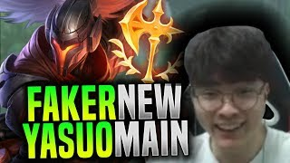 Faker is the Ultimate Yasuo Main? - SKT T1 Faker Picks Yasuo Mid! | SKT T1 Replays