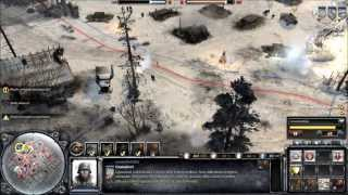 COMPANY OF HEROES 2 - online battle #6 - hd