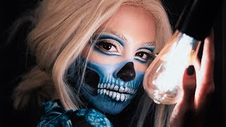 Glam Skull Halloween Makeup Tutorial