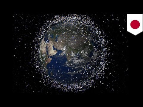 Japan to launch 'magnetic net' to clean up space debris
