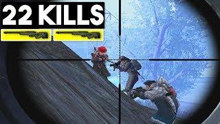 WINNING with 2 AWM! | 22 KILLS SOLO vs SQUAD | PUBG Mobile 🐼