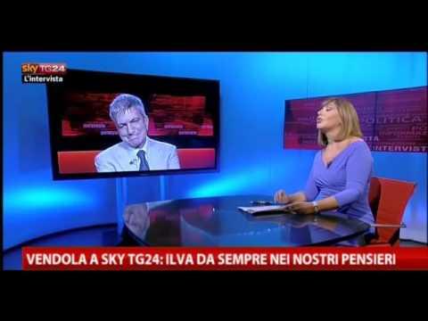 2012 Primarie Centrosinistra – Vendola a Sky tg24 – 07-10-2012