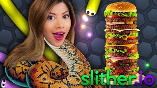YOU CAN'T EAT ME! - Slither.io