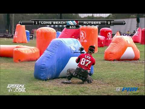 2013 Ncpa College Paintball Champs Semi-finals - Rutgers Vs. Cal State Long Beach video