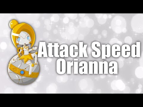 Attack Speed Only!! ORIANNA  #16  League Of Legends