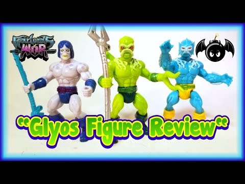Warlords of Wor wave 1 glyos figures review.
