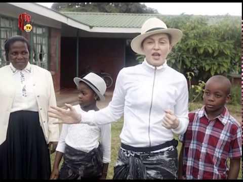 HIPTV NEWS - MADONNA GIVES BACK TO MALAWI CHILDREN