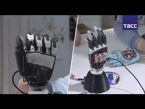 Российский инженер создал уникальную бионическую руку