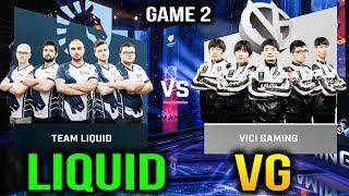 LIQUID VS VG - TEAM LIQUID VS VICI GAMING - ESL One Katowice 2018 Game 2