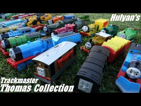 Hulyan's Thomas & Friends Trackmaster Toy Train Collection video