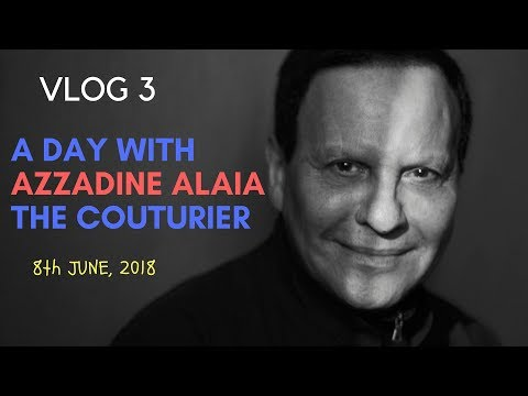 VLOG 3 | At AZZADINE ALAIA: THE COUTURIER Exhibition, The Design Museum, London