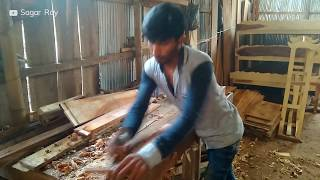 Woodwork (Part- 5): Woodwork in Bangladesh | Young boy is working with wood