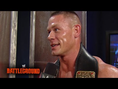 The Odds Against John Cena Successfully Defending His Title: Wwe Battleground 2014 video