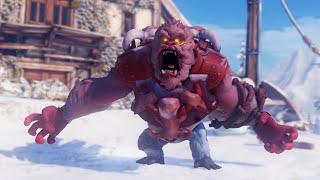 Overwatch: 5 Minutes of Yeti Hunter Gameplay (1080p 60fps)