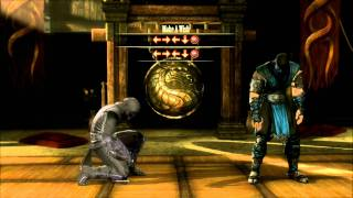 "Mortal Kombat 9 2011 How to Do Fatalities ""Fatality"" HD"