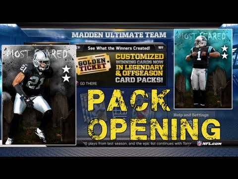 Madden NFL 13 - GT Pack Opening ! - Madden 13 Ultimate Team - MUT 25 - Madden Ultimate Team 13