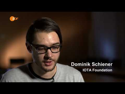 Dom Schiener  and Johann Jungwirth on IOTA at ZDF Morgenmagazin