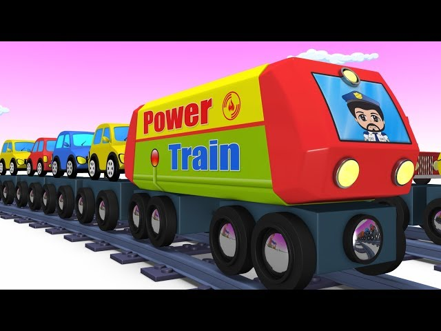 Trains for kids - Choo Choo Train - Kids Videos for Kids - Trains - Toy Factory - Cartoon Train